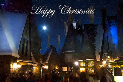 Photograph - Christmas At Hogsmeade by Mark Andrew Thomas