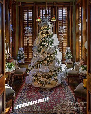 Photograph - Christmas At The Victorian Vaile Mansion by Liane Wright
