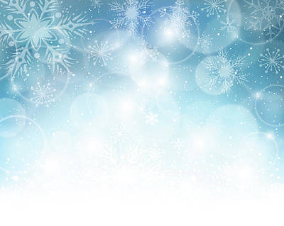 Digital Art - Christmas Background by Adyna