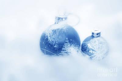 Celebrate Photograph - Christmas Balls Decoration by Michal Bednarek