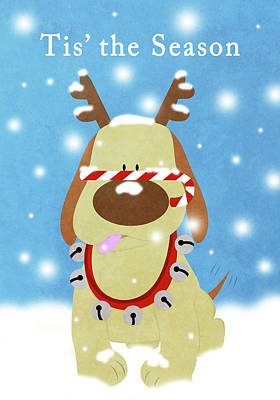 Candy Digital Art - Christmas Barks II by South Social Studio