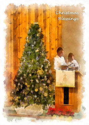 Photograph - Christmas Blessings by Dawn Currie