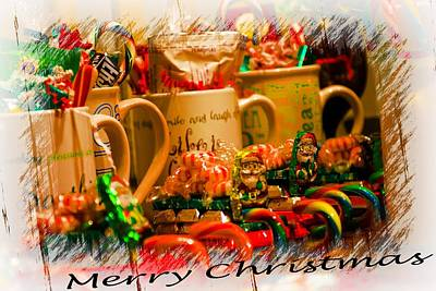 Photograph - Christmas Candies by Sherman Perry