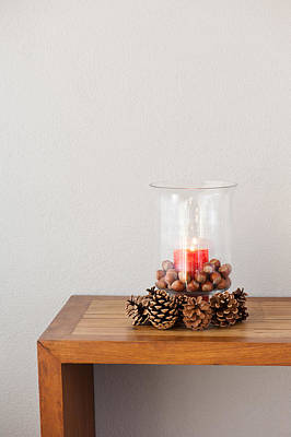 Photograph - Christmas Candle  by U Schade