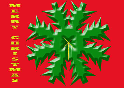 Digital Art - Christmas Card 1 by Kristy Jeppson