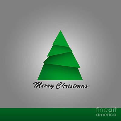 Digital Art - Christmas Card  by Martin Capek