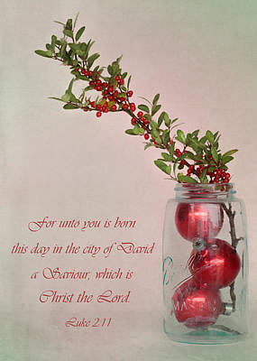 Photograph - Christmas Card V by David and Carol Kelly