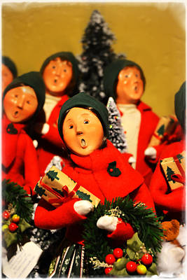 Photograph - Christmas Caroling by Mike Martin