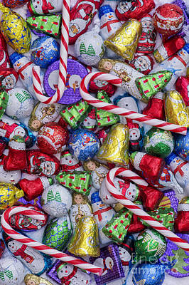 Christmas Chocolates Art Print by Tim Gainey