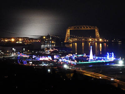 Duluth Photograph - Christmas City by Alison Gimpel