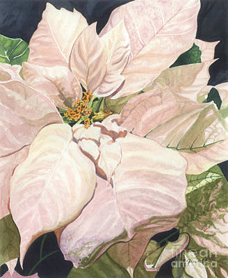 Art Print featuring the painting Christmas Classic by Barbara Jewell