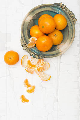 Christmas Clementines Art Print