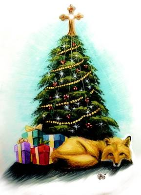 Mixed Media - Christmas Commission by Scarlett Royal