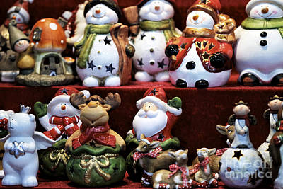 Photograph - Christmas Cookie Jars by John Rizzuto