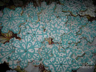Baking Photograph - Christmas Cookies 2 by Mirek Bialy