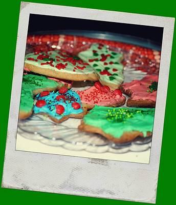 Digital Art - Christmas Cookies by Holley Jacobs