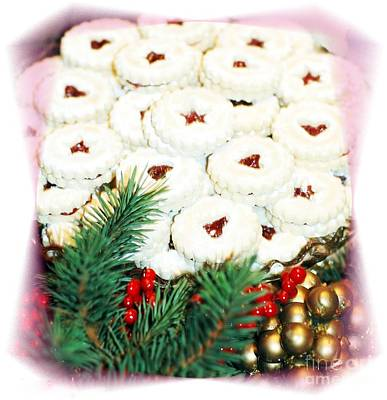 Christmas Cookies Art Print by Kathleen Struckle