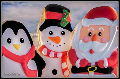 Food Photograph - Christmas Cookies  by LeeAnn McLaneGoetz McLaneGoetzStudioLLCcom