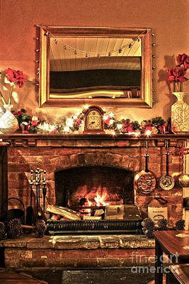 Photograph - Christmas Cosy Corner by Terri Waters