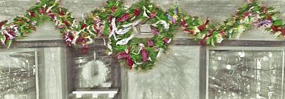 Storefront Mixed Media - Christmas Decor - Retail by Steve Ohlsen