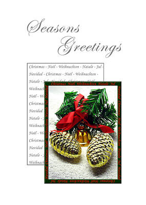 Christmas Decoration 2 Art Print