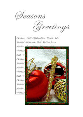 Christmas Decoration 3 Art Print