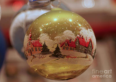 Photograph - Christmas Decoration 7 by Rudi Prott