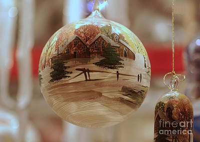 Photograph - Christmas Decoration 8 by Rudi Prott