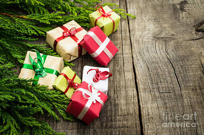 Christmas Decoration Art Print by Aged Pixel