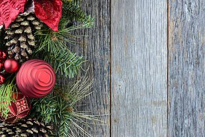 Tree Photograph - Christmas Decoration by Brandon Bourdages