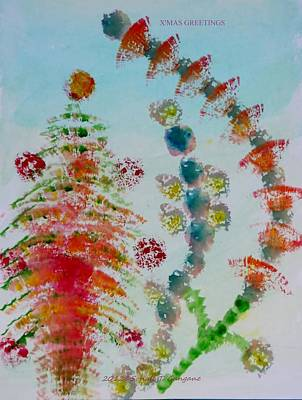 Christmas Decorations  Art Print by Sonali Gangane