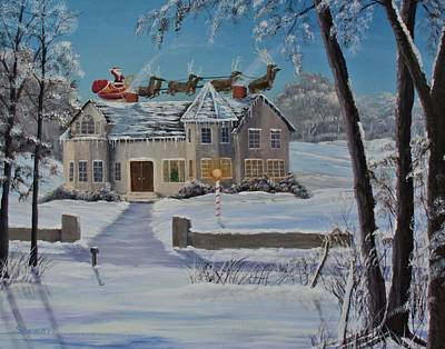 Painting - Christmas Delivery by William Stewart