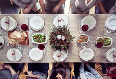 Photograph - Christmas Dinner by Orbon Alija