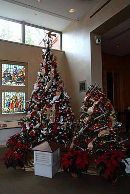 Christmas Display - Mt Vernon - 01132 Art Print