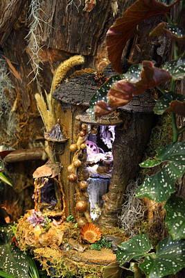 Christmas Display - Us Botanic Garden - 011321 Art Print by DC Photographer