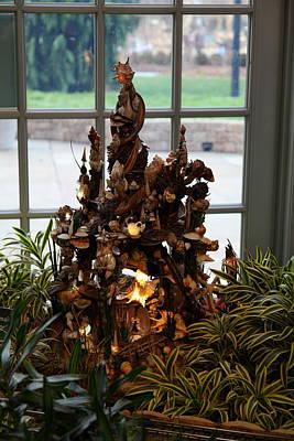 Display Photograph - Christmas Display - Us Botanic Garden - 011332 by DC Photographer