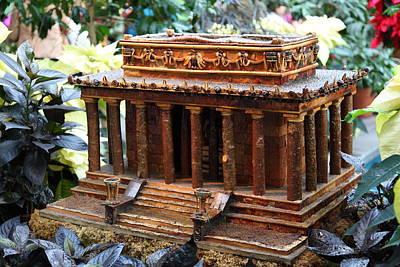 Christmas Display - Us Botanic Garden - 011354 Art Print by DC Photographer