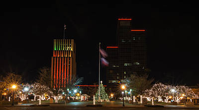 Photograph - Christmas Eve In Tyler Texas by Todd Aaron