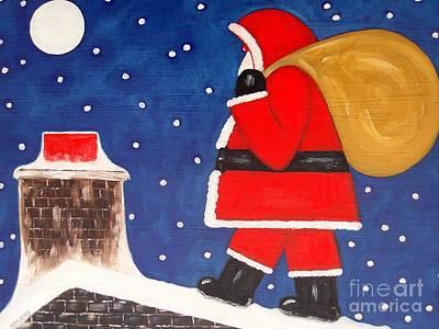 Christmas Eve Art Print by Patrick J Murphy