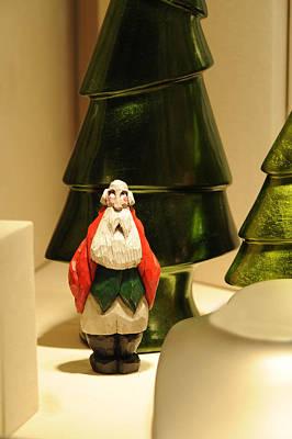 Christmas Figurine I Art Print by Harold E McCray