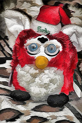 Photograph - Christmas Furby by EricaMaxine  Price