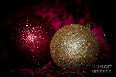 Photograph - Christmas Glitter by Bianca Nadeau