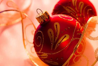 Christmas Glitter Original by Teri Virbickis