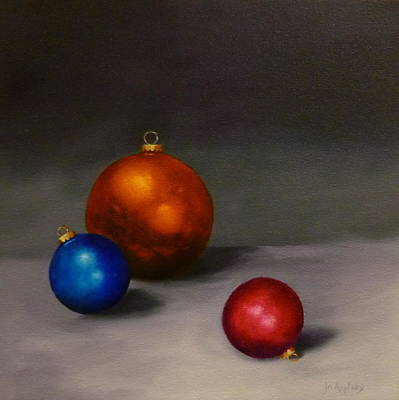 Painting - Christmas Glow by Jo Appleby