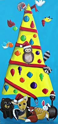 Christmas Gone Wild Original by Tracie Davis