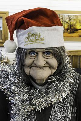 Photograph - Christmas Grandma by Steve Purnell