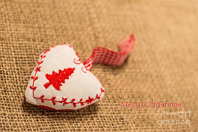 Photograph - Christmas Heart by Simona Ghidini