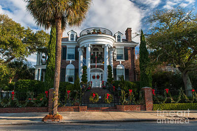 Photograph - Christmas In Charleston by Dale Powell
