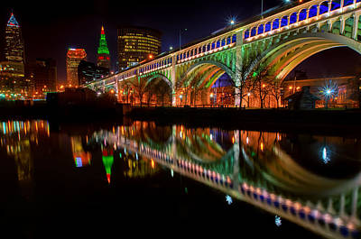Christmas In Cleveland Art Print