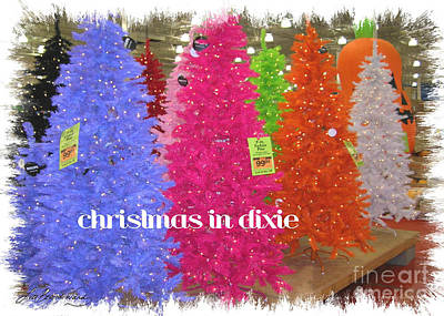 Photograph - Christmas In Dixie by Lizi Beard-Ward